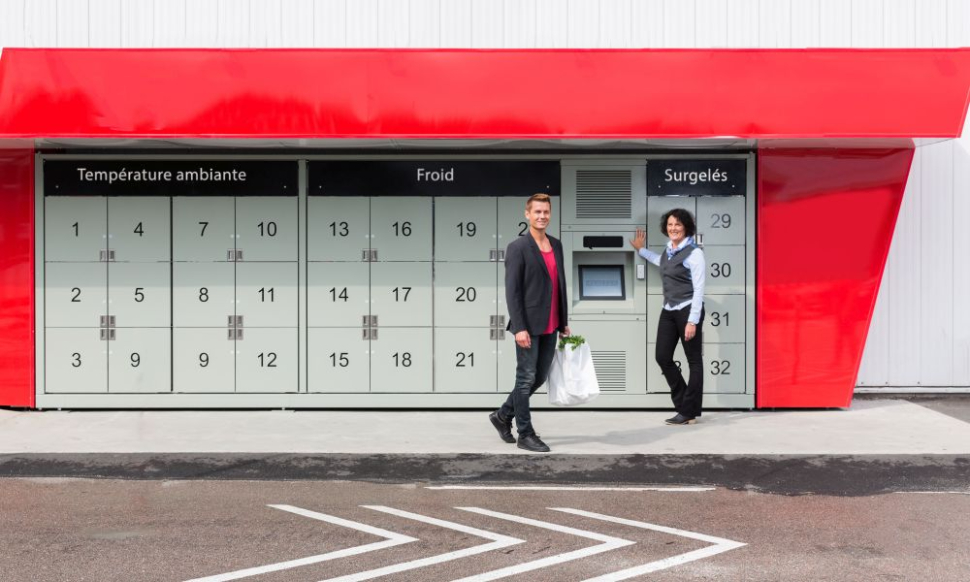 Click&Collect bij traditionele retail winkels
